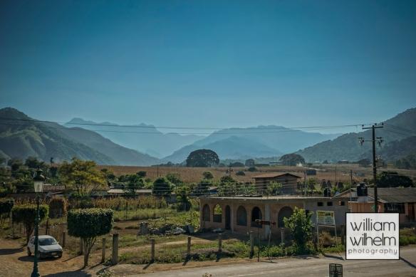 The view from town Square in La Estancia