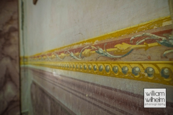 The original wall painting detail