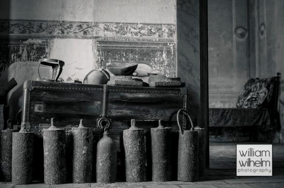 Mercury containers