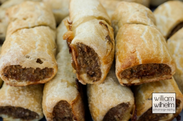 Delicious Sausage Rolls - a great walk around snack.