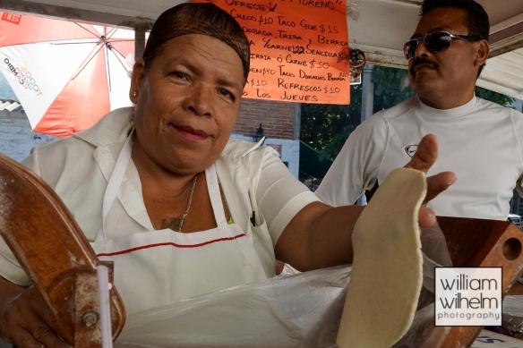 Handmade tortilla!